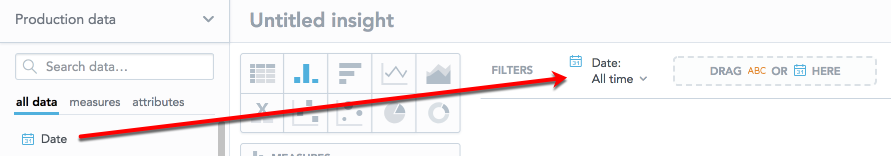 compare date filter