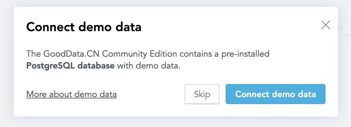 Connect demo data